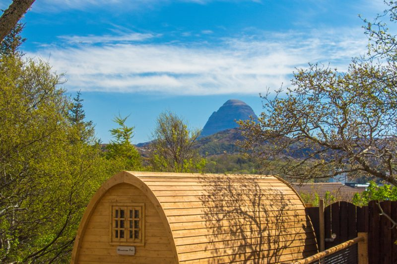 Luxury Glamping in the Mountview Pod