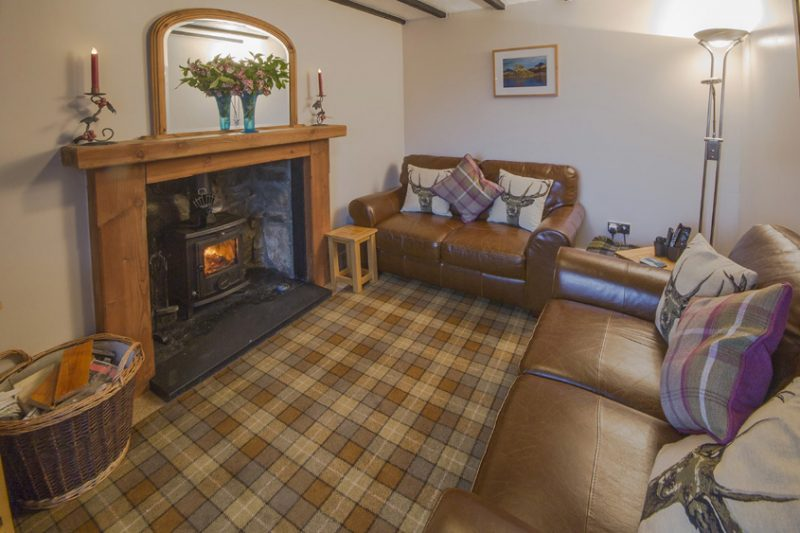 Mountview self catering Cottage living room